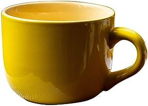 Pots Cups Ceramic Kung Fu Purple Clay Sets Old Mug Ceramic Cup Bombastic Capacity Breakfast Cup Callous Heat LEBAO (Color...