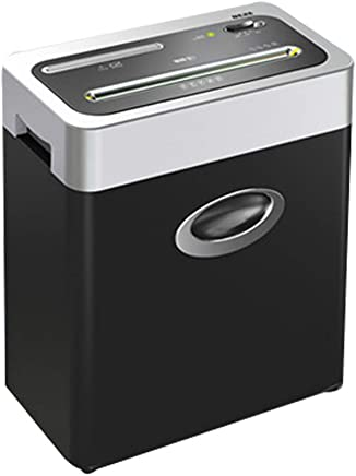 $217 Get WHJ@ Small High Security Shredder Office Personal Home Electric Mini Particle File Shredder Broken Card Cd Stud Mute 5 Minutes Portable Office Desktop A4 Paper