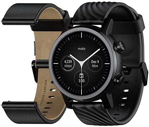Moto 360 3rd Gen 2020 Wear OS by Google The Luxury Stainless Steel Smartwatch with Included product image