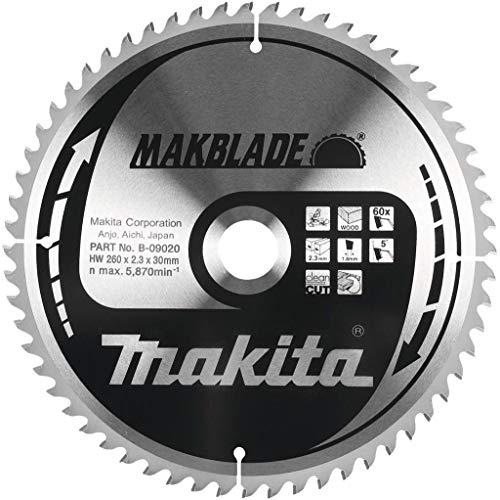 Makita Makblade Kreissägeblatt, 260mm, 80 Zähne, 30mm Bohrung
