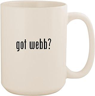 got webb? - White 15oz Ceramic Coffee Mug Cup