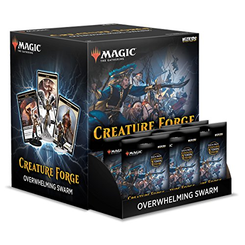 WizKids Magic: The Gathering Creature Forge: Overwhelming Swarm 24 CT. Gravity Feed, Set
