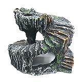 Felenny Tortuga Peregrino Plataforma Ecológica Reptiles Peregrino Plataforma de Escalada Resina Escondida Cueva Acuario Pecera Ornamento