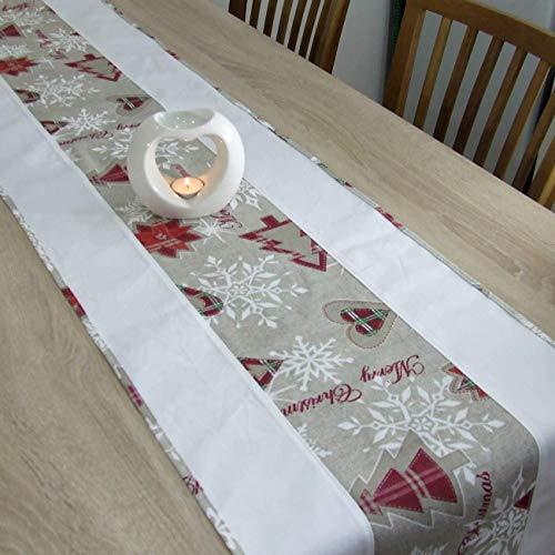 Wunderbare Tischläufer für Weihnachten, Merry Christmas, das Beste Geschenk für die schönste Küche von HomeAtelier, Weihnachtsdekoration, 130x40cm, 150x40cm, 170x40cm