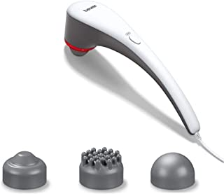 Beurer Heat Tapping Multi Usage Massager - MG 55, White & Gray
