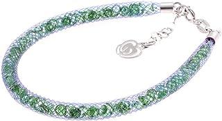 Bracciale Viola in Argento 925 con Cristalli Luminosi Collezione Tennis Colorazione : Viola Emerald 6S