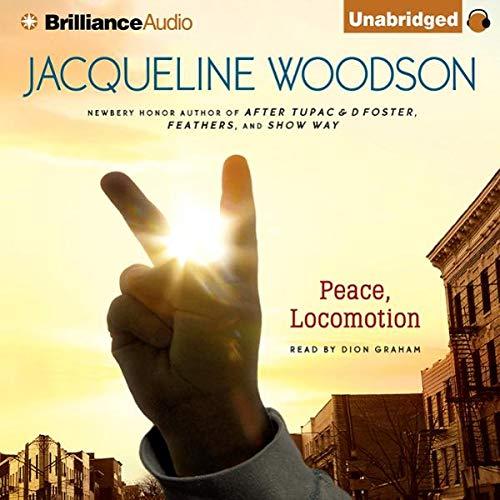 Peace, Locomotion audiobook cover art