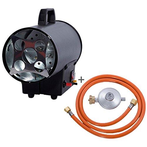 FUXTEC Industrie Gasheizer FX-GH10 Gasheizstrahler Bauheizer Heizgebläse 10kW