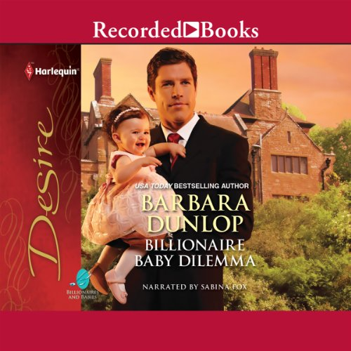 Billionaire Baby Dilemma audiobook cover art