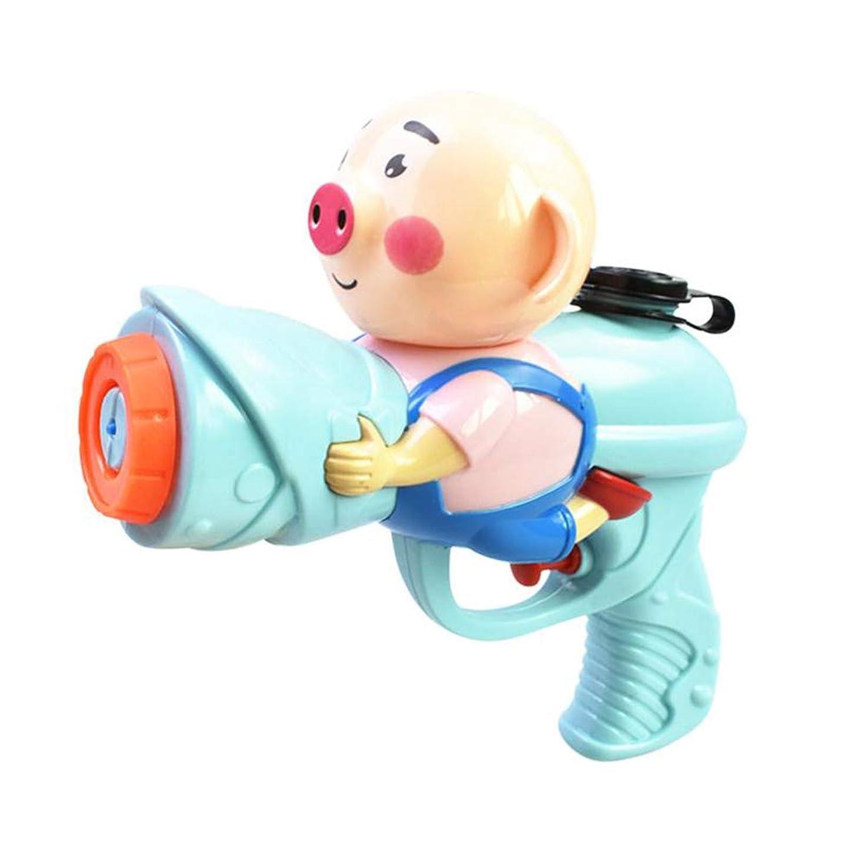 編集するペニービルマACHICOO 水鉄砲 休日 ファッション 豚デザイン ブラスター 水のおもちゃ カラフルな ビーチおもちゃ(ランダムカラー) 子供