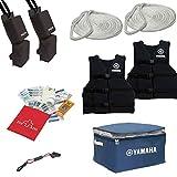 YAMAHA OEM WaveRunner Starter Kit. Life Vests, Bumpes, Ropes, Storage