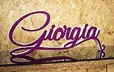 Tankpad Nomi in Polistirolo Scritta Nome Personalizzato Lettere Decorazione per Feste Battesimo Compleanno, Prima Comunione Nascita Idea Regalo Confettata Sagoma Colorato