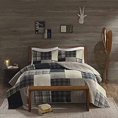 Woolrich WR14-1729 Winter Hills Quilt Mini Set King/Cal King Tan,King/Cal King