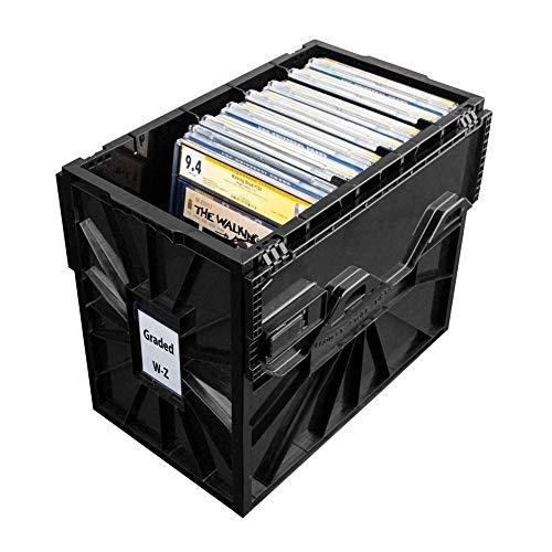 BCW Graded Comic Box Plastic Black