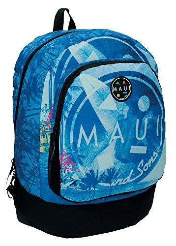 Maui Surf Mochila Escolar, 21.29 Litros, Color Azul