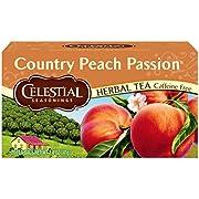 Celestial Seasonings Herbal Tea, Country Peach Passion, 20 Count