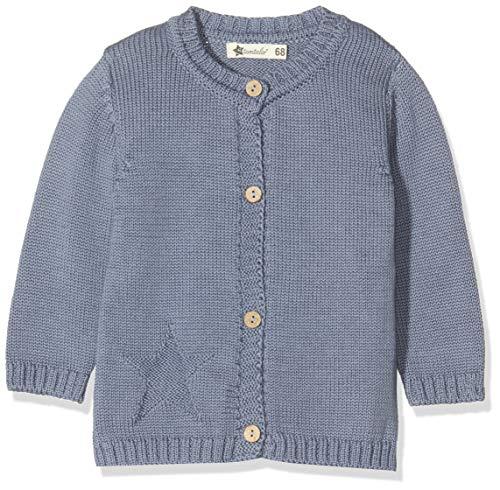 Sterntaler Baby Strick-Jacke für Jungen, Baylee, Alter: 4-5 Monate, Größe: 62, Graublau