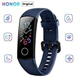 """Honor Band 5 Fitness Tracker, 0.95"""" Full Color AMOLED Display, Real Time Heart Rate, Sleeping and Blood Oxygen Monitoring, 50 Meters Waterproof, 14 days Standby and Music Control"""