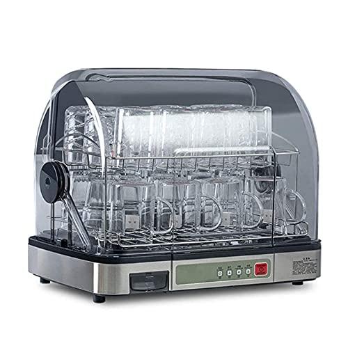KSDCDF Lavabajos portátil de encimera, Mini lavavajillas de Mini Platos con litro Tanque de Agua Incorporado y función de Aire seco, programas de Lavado, Cuidado del bebé, Vidrio y Lavado de Frutas