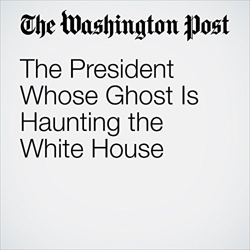The President Whose Ghost Is Haunting the White House copertina