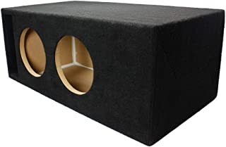 LAB SlapBox 1.40 ft^3 Ported/Vented MDF Sub Woofer Enclosure for Pair of Sundown Audio SA-8 v1 v2 v3 (SA8) Car Subwoofers - 3/4