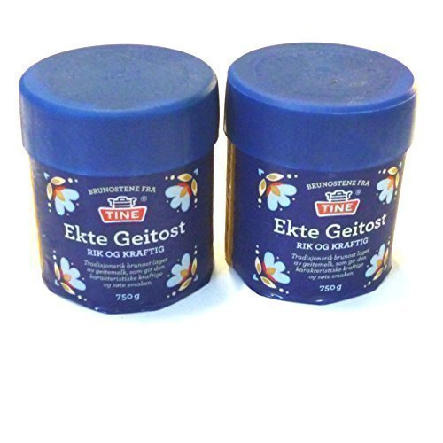 Ects Geitost due Pani 2 x 750 g norvegese capra formaggio