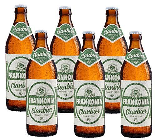 Frankonia Clan Bier Fränkisch Stout 6 x 0,5l I Bier aus Franken I Bierspezialität I Geschenk