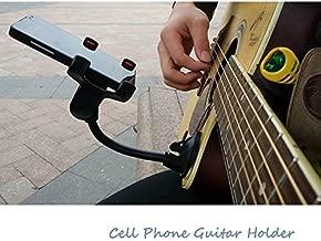 Phone Holder Stand for Guitar Street Singing lyrics Song Car Holder Sucker Suction Cups Musicians Guitar Stand Car Holder Mobile