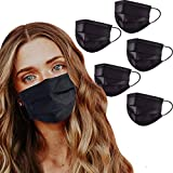 Protective Mouth Cover Face Mask Multi Layer Breathable Reusable and Washable Cloth for Individual and Family Use for Indoor Outdoor Home Office Travel (3 Pack)