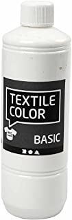 Peinture pour textile Blanc 500ml
