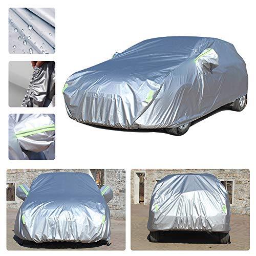 Dinuoda Funda de coche para Hyundai Grand Santa Fe, impermeable, transpirable, lluvia, nieve, polvo,