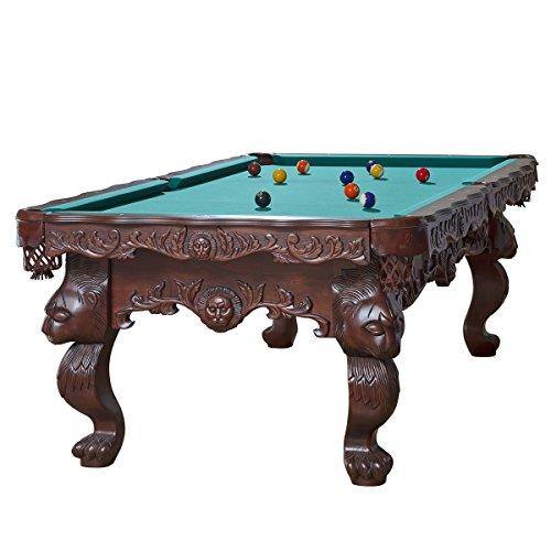 Billiard-Royal - Tavolo da biliardo modello Leo, 8 piedi, verde