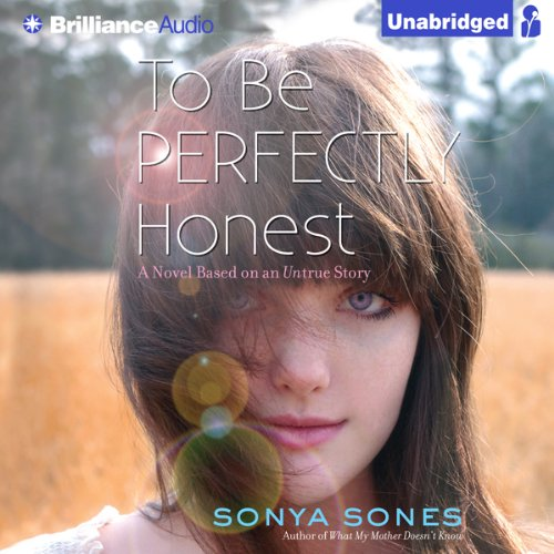To Be Perfectly Honest audiobook cover art