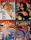 Four NEW 1986 Issues of Playboy Magazine (September, October, November, June 1986)