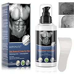 Crème épilation, crème épilation, Aloe Hair Removal Cream Hydratant pour les hommes Femmes, Sans douleur & Épilation simple pour plusieurs parties du corps avec spatule MEHRWEG
