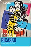 CDecor Degas to Picasso Blechschilder, Metall Poster, Retro