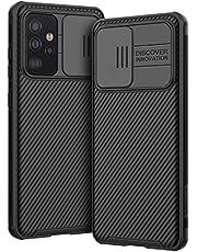 AROYI Funda Compatible con Samsung Galaxy A52 5G / 4G, Tapa Deslizante para la cámara - Negro