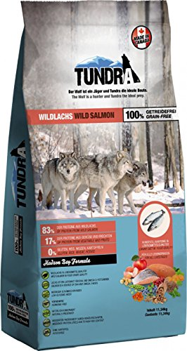 Tundra Hundefutter Wildlachs - getreidefrei (11,34 kg)