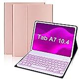 IVEOPPE Tastaturhülle für Samsung Galaxy Tab A7 26,4 cm