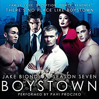 Boystown, Season Seven audiobook cover art
