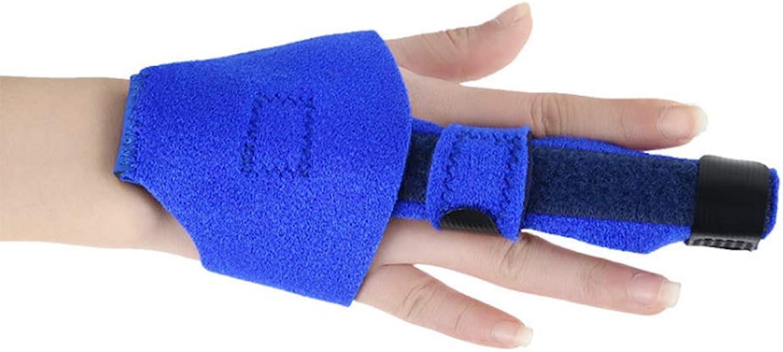 Finger Extension Splint for Trigger Finger, Mallet Finger, Finger Knuckle Immobilization, Finger Fractures, PostOperative Care and Pain Relief Malleable Metallic Hand Splint Finger Support