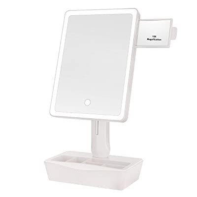 """GROWRICH Lighted Makeup Mirror,with (2.9""""x2.5"""")..."""