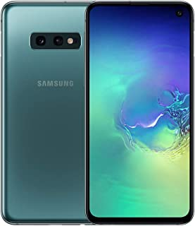 Samsung Galaxy S10e 128GB SM-G970F/DS Hybrid/Dual-SIM (GSM Only, No CDMA) Factory Unlocked 4G/LTE Smartphone - International Version No Warranty (Prism Green)
