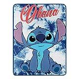 Lilo and Stitch Ohana Super Plush Throw - 46' by 60'