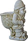 DEGARDEN Figura Decorativa Enano con Saco de...