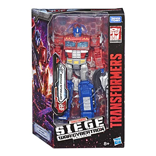 Hasbro Transformers- Generations Optimus Prime War For Cybertron: Siege (Voyager Class) WFC-S11, Multicolore, E3541ES0