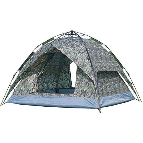 Luyshts Carpa Carpa De Camuflaje Puerta Doble Puerta Doble 3 Personas Automático Carpa Abierta Al Aire Libre Acampar Al Aire Libre Camping Refugio Frío Impermeable