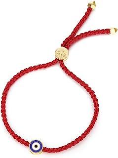 سوار عين شرير سلسلة حمراء كاباله حماية اليدوية قابلة للتعديل أساور التبت للنساء الرجال الأولاد والبنات