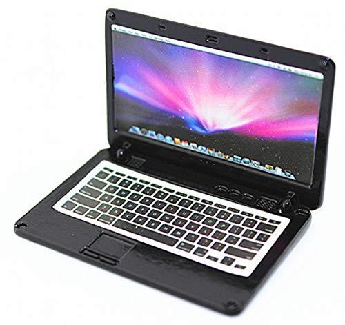 ARUNDEL SERVICES EU Mini Laptop para 1/10 RC Crawler Casa de muñecas Axial SCX10 Computadora en Miniatura Miniatura Traxxas Camión TRX-4 Ordenador Personal