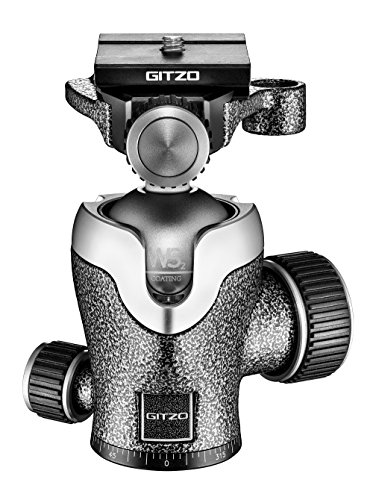 """Gitzo GH1382QD 1/4"""" Pelota Negro, Metálico Cabeza de tripode - Cabeza para trípode (112 mm, 500 g, 4,2 cm, Aluminio, Negro, Metálico)"""